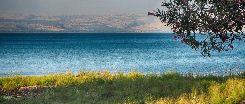 Het Meer van Tiberias waar Rabbi Chaim Vital dronk uit de bron van Mirjam